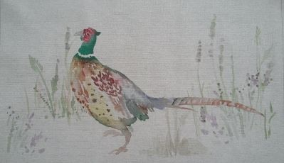 Voyage Cushion Panel Pheasant