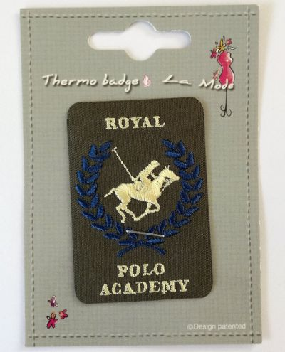 Royal Polo Academy Patch