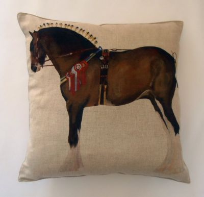 Textile Express Shire Horse Cushion Cover