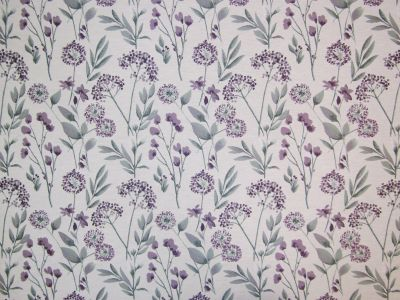 Botanica Heather Floral Fabric Tex Ex 1765