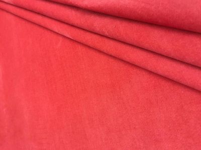 Stretch Velvet Coral Pink Tex Ex 1808