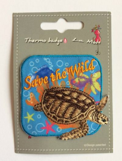 Turtle Save the Wild Patch