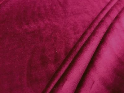 Sweatshirting Velour Berry U52