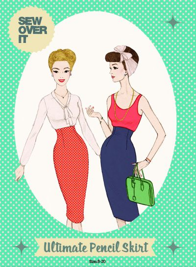 Sew Over It Ultimate Pencil Skirt Sewing Pattern