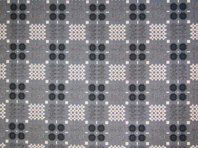 Tex Ex Originals Welsh Blanket Weave Blue