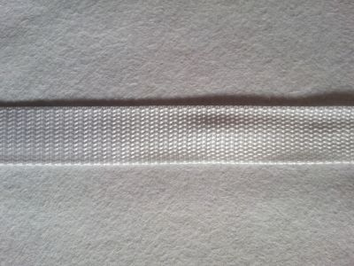 "Bag Strap Webbing Tape 1"" White"