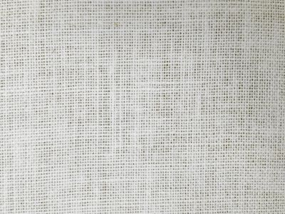 White Hessian Fabric