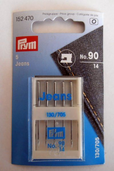 Prym Sewing Machine Needles for Jeans