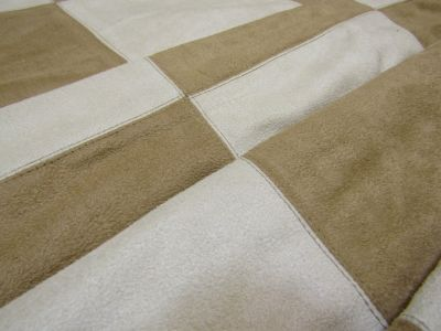 Checker Board Suede Tan Cream Tex Ex 1917