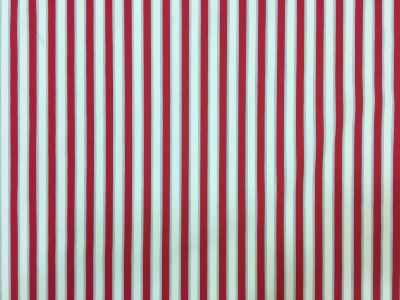 Bathers Stripe Lawn Red Tex Ex 1971