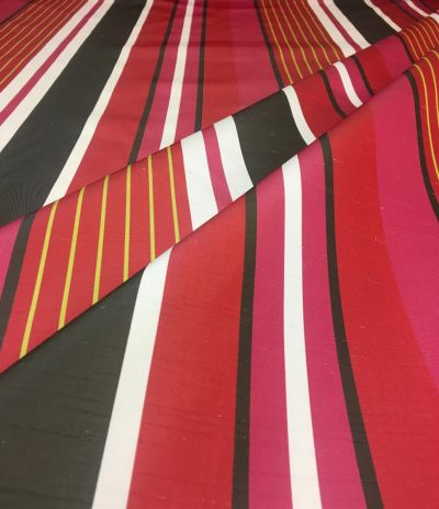 Candy Stripe Multi Red Tex Ex 2037