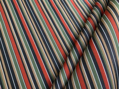 Caribbean  stripe waterproof outdoor fabric C582