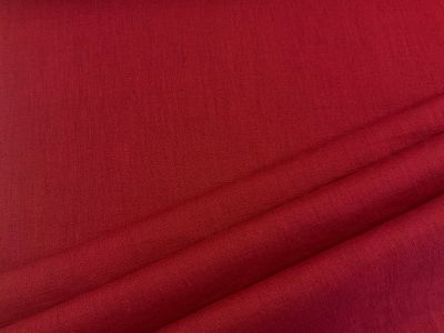 Washed Linen Dark red  C542