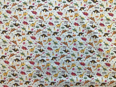 Dinosaur cotton poplin C533