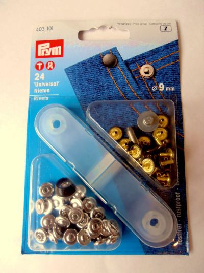 9mm Univeral Rivets