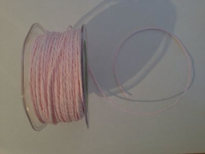 Baby Pink Paper Cord | Textile Express | Buy Fabric Online
