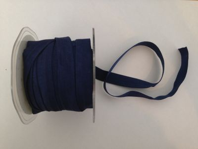 Navy Elastic 15mm