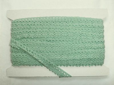 Scalloped Cotton Lace Sage