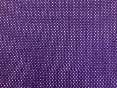Spotty Cotton Poplin Purple CP0009