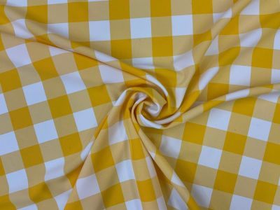 Jumbo Gingham Yellow i224