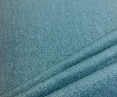 Washed Linen Teal sky C535