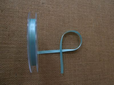 7mm Satin Ribbon New Turquoise