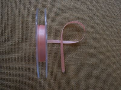 7mm Satin Ribbon Pink