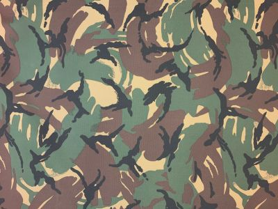 Tex Ex PU Coated Polyester Camouflage J17