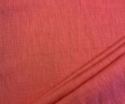 Washed Linen Coral C539