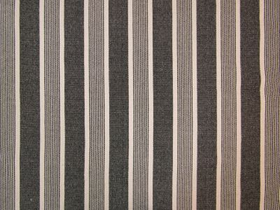 Moses Woven Stripe Black A118