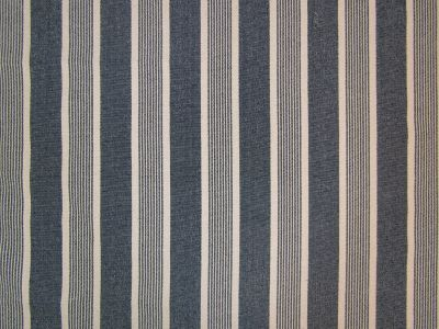 Moses Woven Stripe Navy A119