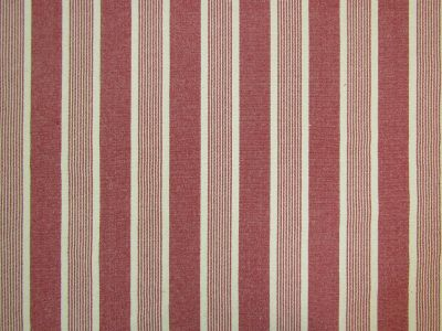 Moses Woven Stripe Red A122
