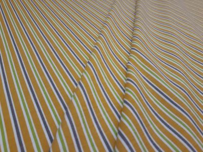 Vintage Stripe Jersey Yellow Grey Green A224