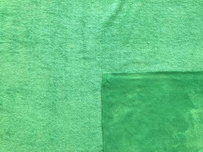 Bamboo Towelling Green A240