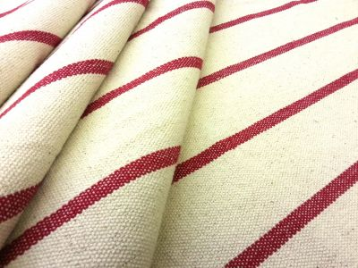 Mary Weave Red A77  Sample