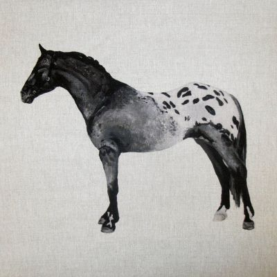 Appaloosa Horse Cushion Panel 18