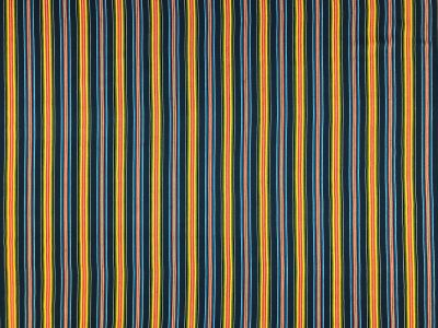 Panama Stripe Navy Multi B160