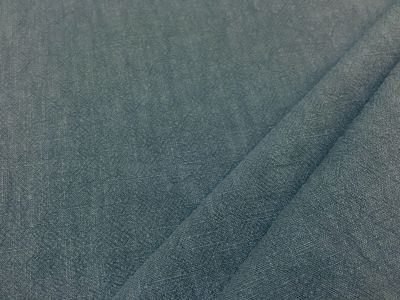 Washed Ramie Linen Look Denim B167