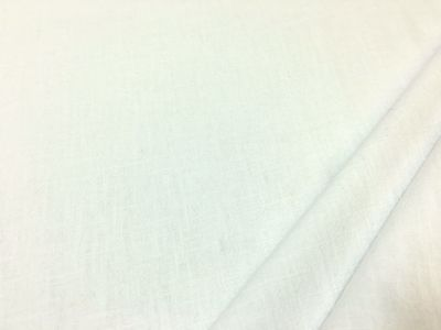Washed Ramie Linen Look White B170