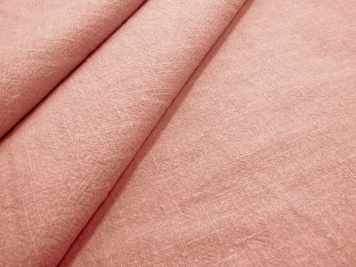 Washed Ramie Linen Look Rose Pink B183