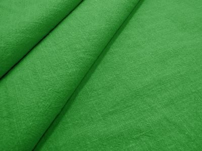 Washed Ramie Linen Look Apple Green B184