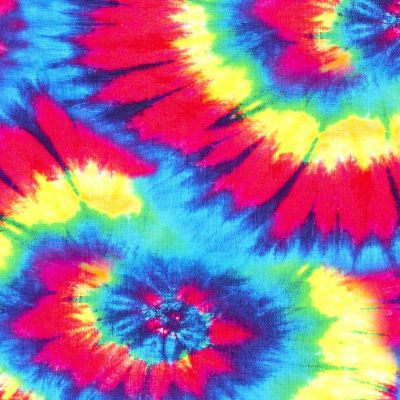 Tie Dye French Terry Multi B190