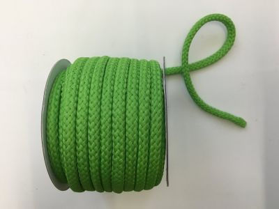 8mm Braided Cord Lime
