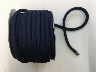 8mm Braided Cord Navy