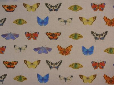 Tex Ex Original British Butterflies Linen Small