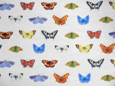 Tex Ex Original British Butterflies Multi White