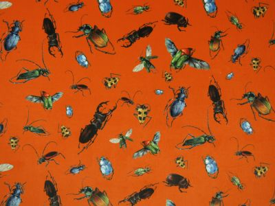 Bug Collector Velvet Tangerine