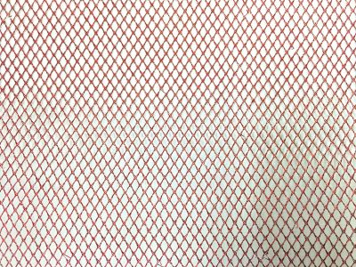 Metallic Net Red C125
