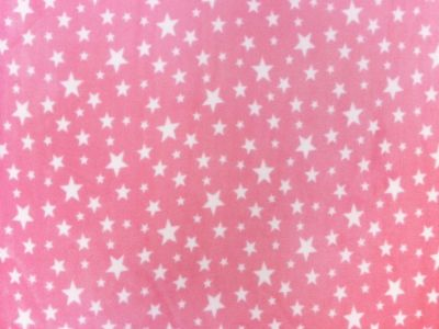 Starry Night Pink Polar Fleece C176
