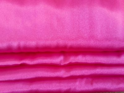 Dress Satin Cerise